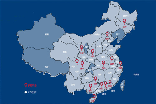 西安旅游景点分布